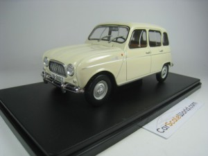 RENAULT 4L 1964 1/24 IXO SALVAT (WHITE) WITH BLIST