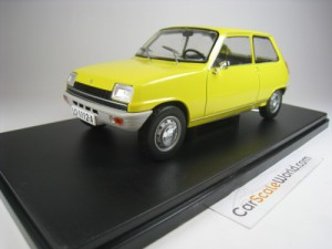 RENAULT 5 1972 1/24 IXO SALVAT (YELLOW) WITH BLIST