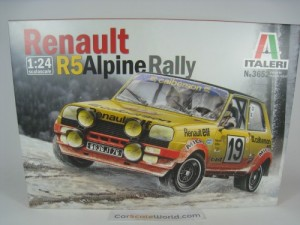 RENAULT 5 R5 ALPINE RALLY MONTE CARLO 1978 1/24 IT
