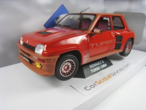 RENAULT 5 TURBO 1984 1/18 SOLIDO (RED)
