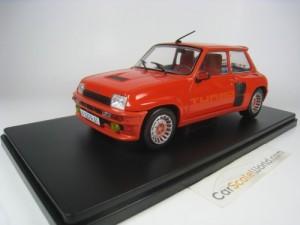 RENAULT 5 TURBO 1980 1/24 IXO SALVAT (RED) WITH BL