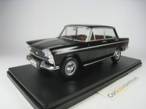 SEAT 1500 1971 1/24 IXO SALVAT (BLACK) WITH BLISTE