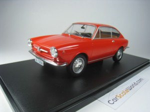 SEAT 850 COUPE 1967 1/24 IXO SALVAT (RED) WITH BLI