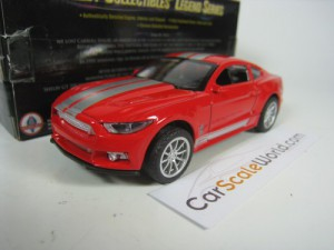 SHELBY GT350 2016 1/43 SHELBY COLLECTIBLES (RED/SI