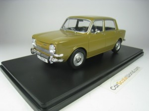 SIMCA 1000 1969 1/24 IXO SALVAT (KAKI) WITH BLIST