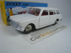 SIMCA 1500 BREAK 1/43 DINKY TOYS ATLAS (WHITE)
