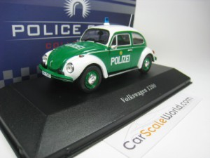 VOLKSWAGEN KAFER 1200 POLIZEI GERMANY 1/43 IXO ATL