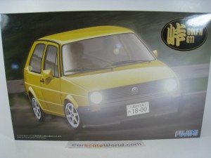 VOLKSWAGEN GOLF GTI MK2 1/24 FUJIMI (KIT ASSEMBLY)
