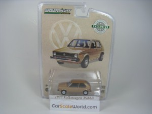VOLKSWAGEN GOLF RABBIT 1977 U.S SPEC 1/64 GREENLIG