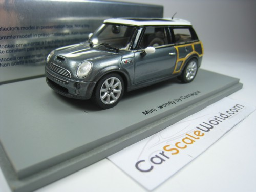 MINI WOODY BY CASTAGNA 2004 1/43 SPARK (SILVER)